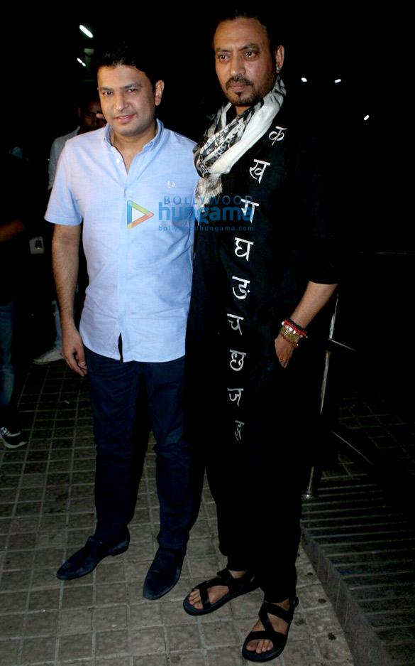 सुशांत सिंह राजपूत और अन्य 'हिंदी मीडियम' की स्क्रीनिंग में आए नजर