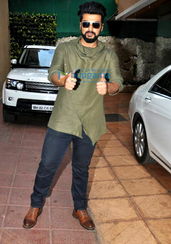 अर्जुन कपूर अपनी फिल्म 'हाफ़ गर्लफ़्रेंड' के प्रमोशन पर आए नजर