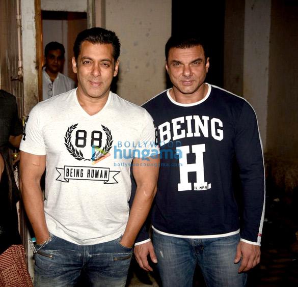 सलमान खान और सोहेल खान अपनी फिल्म ट्यूबलाइट का प्रमोशन करते हुए नजर आए