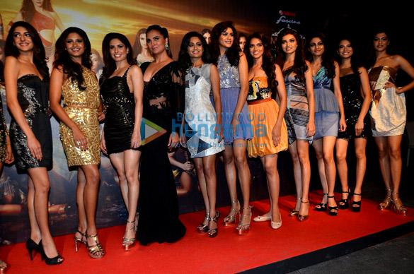 अदिति राव हैदरी, लारा दत्ता और अन्य मुंबई में 'मिस दिवा' कार्यक्रम में शामिल हुईं