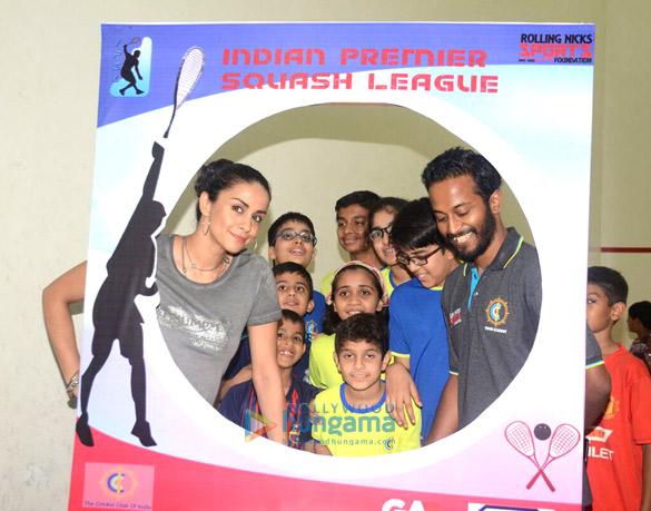 गुल पनाग ने इंडियन प्रीमियर स्क्वैश लीग का शुभारंभ किया
