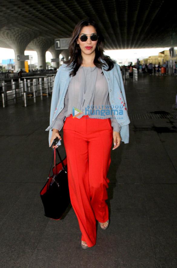 सलमान खान, आलिया भट्ट,मलाइका अरोड़ा और अन्य एयरपोर्ट पर आए नजर