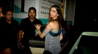 दीपिका पादुकोण मेहबूब स्टूडियो में विज्ञापन शूट के बाद आईं नजर