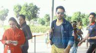 श्रीदेवी, वरुण धवन और संजय दत्त हवाई अड्डे पर आए नजर