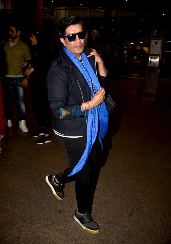 प्रियंका चोपड़ा, सोफी चौधरी और मनीष मल्होत्रा हवाई अड्डे पर आए नजर
