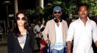 अक्षय कुमार, सुशांत सिंह राजपूत, मीरा कपूर मुंबई के टी 2 हवाई अड्डे पर आए नजर