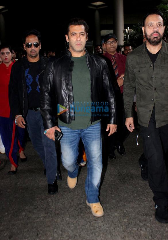 सलमान खान, परिणीति चोपड़ा और कनिका कपूर हवाई अड्डे पर आईं नजर
