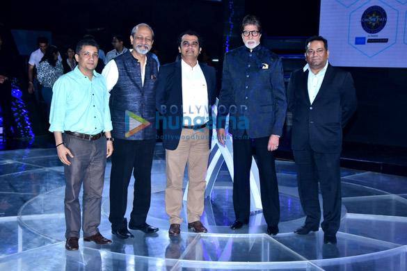 अमिताभ बच्चन 'कौन बनेगा करोड़पति 10' के लॉंच में हुए शामिल