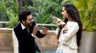 जुहू में नोवोटेल होटल में मीडिया इंटरैक्शन के दौरान फिल्म स्त्री के कलाकार आए नजर