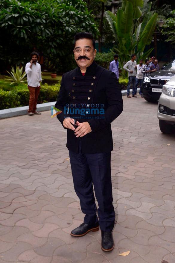 इंडियन आइडिल 10 के सेट पर कमल हासन ने अपनी फ़िल्म विश्वरूप 2 को प्रमोट किया