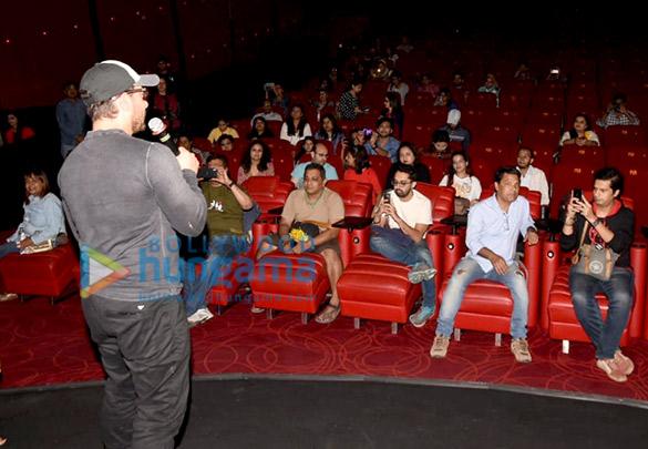 शॉर्ट फ़िल्म 'रुबरु रोशनी' की मीडिया स्क्रीनिंग में नजर आए आमिर खान