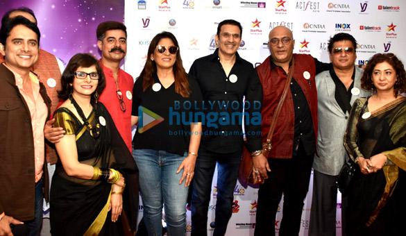 अर्चना पूरन सिंह, परमीत सेठी, अमित बहल और सुशांत सिंह CINTAA और 48 घंटे फिल्म प्रोजेक्ट्स एक्टफेस्ट के उद्घाटन समारोह में शामिल हुए