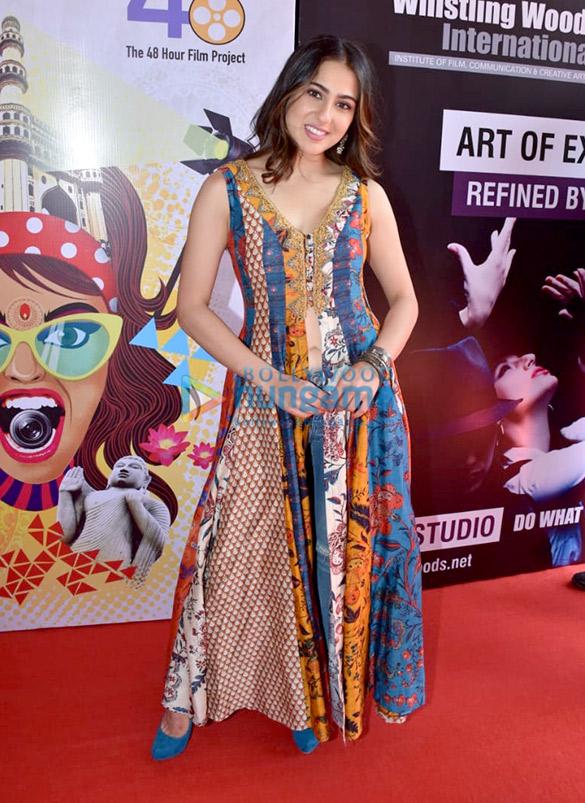 सारा अली खान, सुशांत सिंह राजपूत, जॉनी लीवर और अन्य CINTAA और 48 घंटे फिल्म प्रोजेक्ट्स एक्टफेस्ट ईवेंट में शामिल हुए