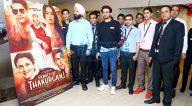 Photos: जिमी शेरगिल और सौरभ शुक्ला नोएडा के टीजीआईपी मॉल में कार्निवल सिनेमा में अपनी फ़िल्म 'फ़ैमिली ऑफ़ ठाकुरगंज' को प्रमोट करते हुए नजर आए