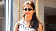 पूजा हेगड़े बांद्रा में स्पॉट हुईं