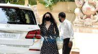 Photos: प्रीति जिंटा जुहू में ऋतिक रोशन के घर पर नजर आईं