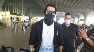 Photos: तारा सुतारिया, अर्जुन कपूर और रश्मिका मंदाना एयरपोर्ट पर नजर आए