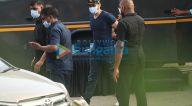 Photos: टाइगर श्रॉफ और जैकी भगनानी शूटिंग के बाद नजर आए
