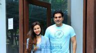 Photos: अरबाज खान और जॉर्जिया एंड्रियानी बांद्रा में नजर आए